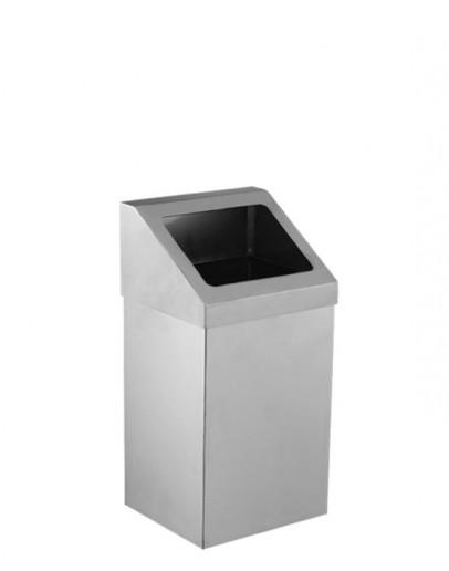 Açık Çatı Kapak Çöp Kovası 304 Kalite